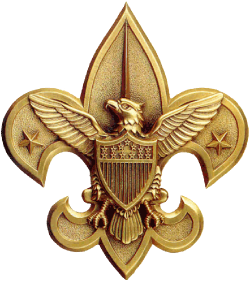 BSA Gold Eagle Emblem