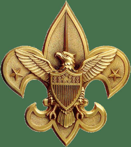 BSA Gold Eagle Emblem